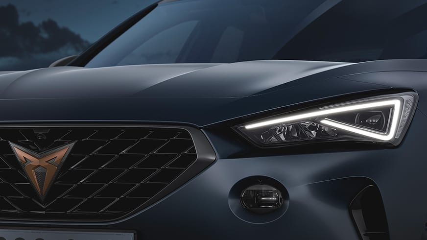 new cupra formentor compact suv with 2 litre 310 horsepower engine