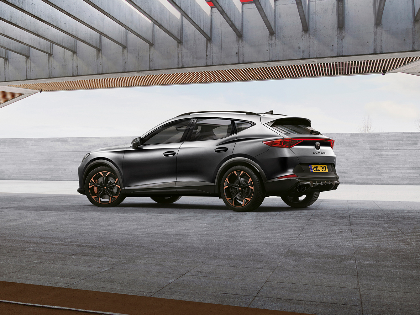 new cupra formentor with automatic manoeuvre function
